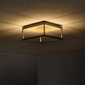 serien.lighting Reflex² LED Deckenleuchte mit Dimmer und Strukturglas