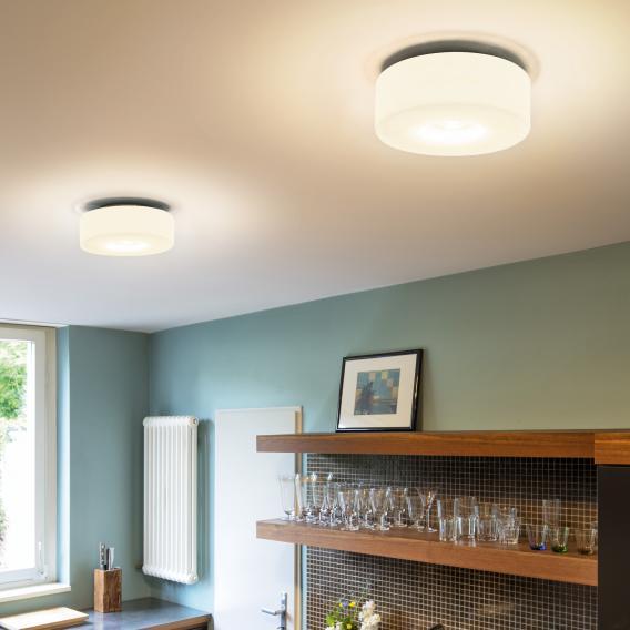 Serien Lighting Curling LED Deckenleuchte, opal