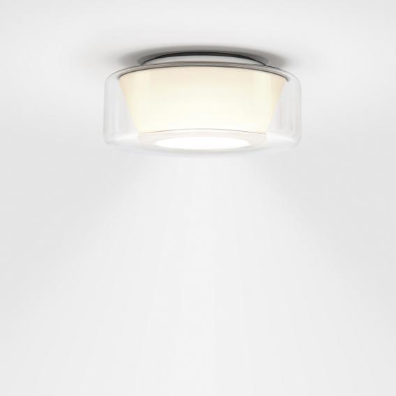 Serien Lighting Curling LED Deckenleuchte, opal konisch