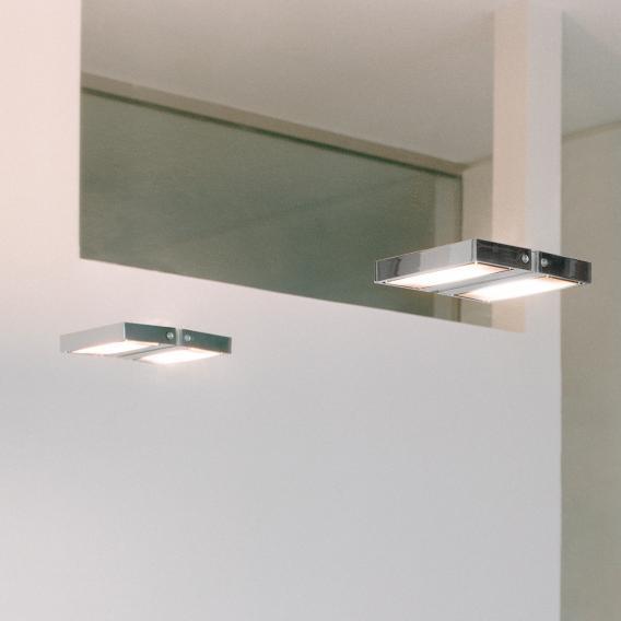 Serien Lighting SML Wall medium Wandleuchte mit Punktraster