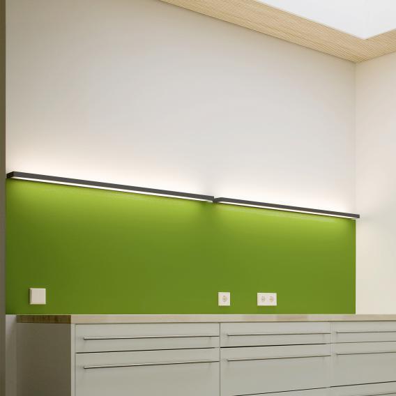 Serien Lighting SML² Wall 900 LED Wandleuchte mit Punktraster