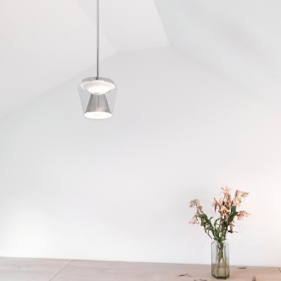 serien.lighting Annex LED Pendelleuchte,  Reflektor poliert