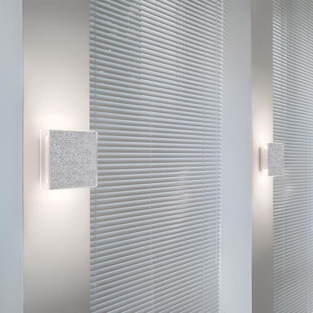 serien.lighting App LED Wandleuchte, strukturiert