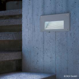 SLV BRICK LED Downunder Wandeinbauleuchte