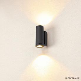 SLV ENOLA LED Wandleuchte mit CCT, 2-flammig rund