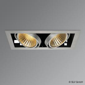 SLV Kadux 2 Set LED Einbau-Deckenleuchte / Spot