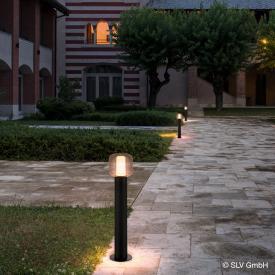 SLV OVALISK LED Pollerleuchte mit CCT