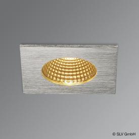 SLV Patta-I LED Einbau-Deckenleuchte / Spot eckig