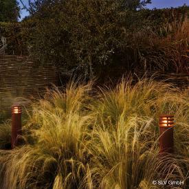 SLV RUSTY ROUND 70 LED Pollerleuchte