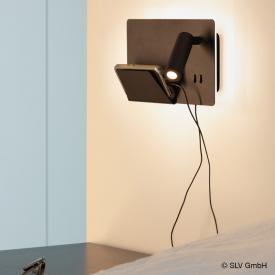 SLV SOMNILA USB LED Spot/Wandleuchte, rechts