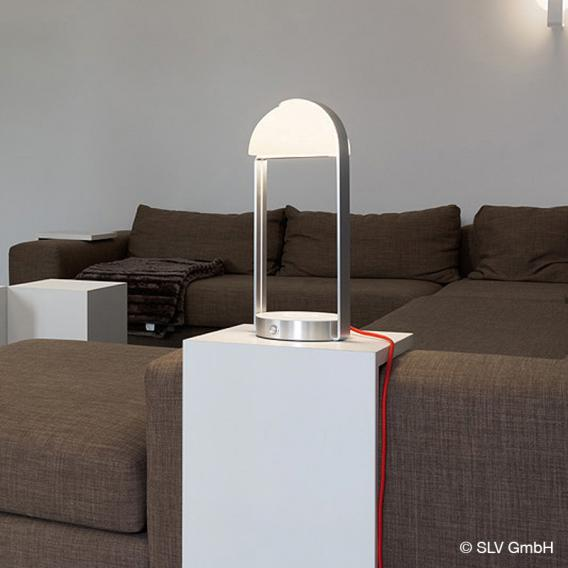 SLV BRENDA LED Tischleuchte mit Ladefunktion