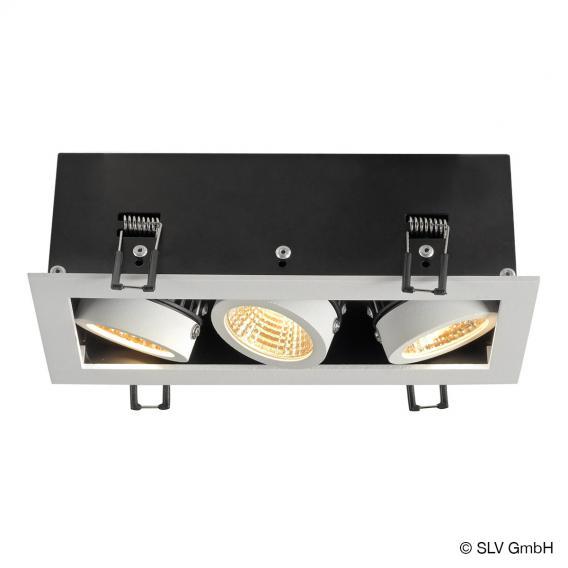 SLV Kadux 3 Set LED Einbau-Deckenleuchte / Spot