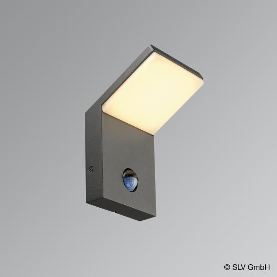 SLV ORDI LED Wandleuchte mit Bewegungsmelder