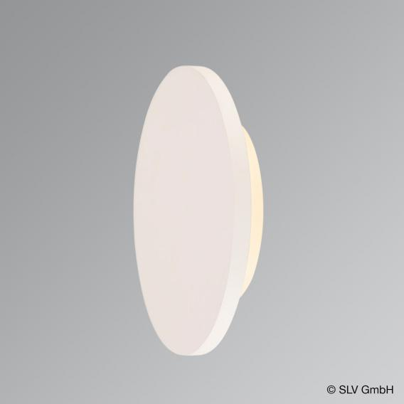 SLV PLASTRA LED Wandleuchte aus Gips, rund