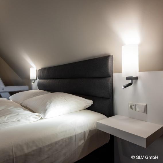 SLV QUADRASS LED Spot/Wandleuchte