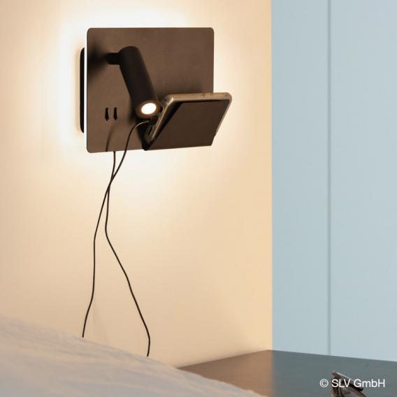 SLV SOMNILA USB LED Spot/Wandleuchte, links