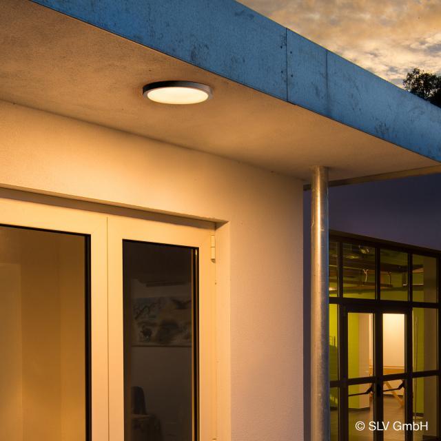 SLV AINOS LED Deckenleuchte mit Bewegungsmelder