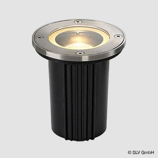SLV DASAR EXACT GU10 Bodeneinbauleuchte / Spot