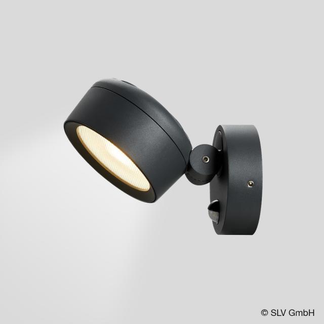 SLV ESKINA LED Spot/Wandleuchte mit Bewegungssensor und CCT