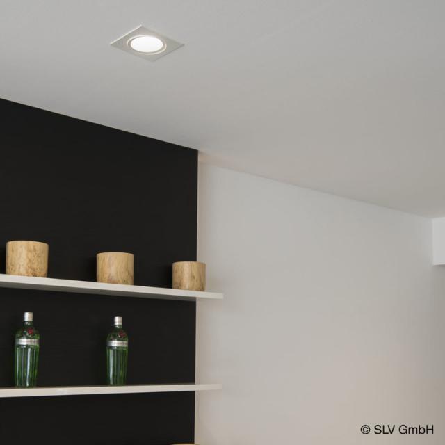 SLV NEW TRIA LED Einbau-Deckenleuchte / Spot eckig
