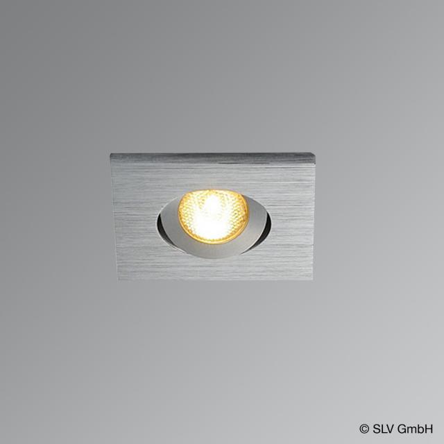 SLV NEW TRIA MINI LED Einbau-Deckenleuchte / Spot eckig