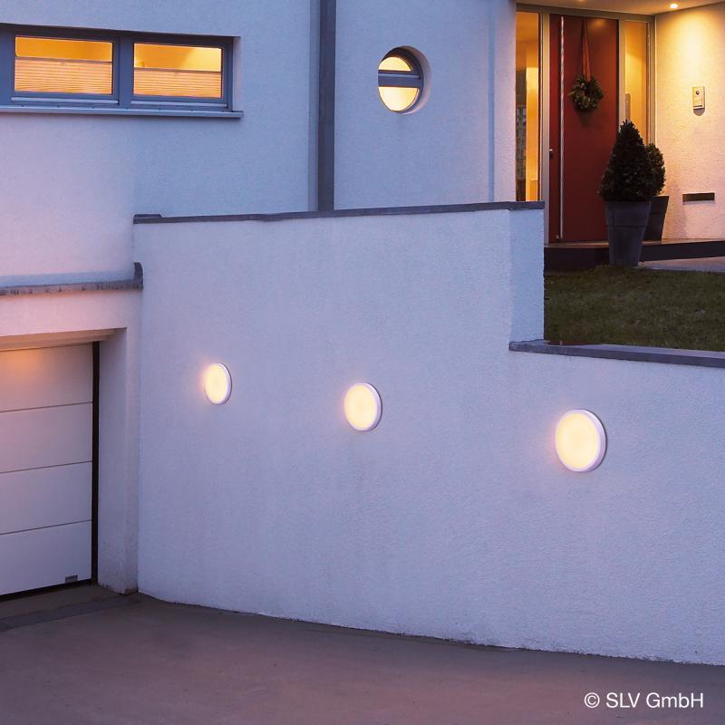 slv ainos led deckenleuchte mit bewegungsmelder 229971. Black Bedroom Furniture Sets. Home Design Ideas