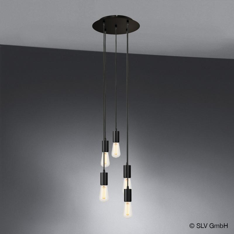 slv fitu pendelleuchte 5 flammig 132620 132650 5 reuter. Black Bedroom Furniture Sets. Home Design Ideas