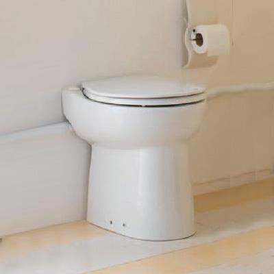 SFA Sanicompact ® 43 WC mit integrierter Hebeanlage weiß