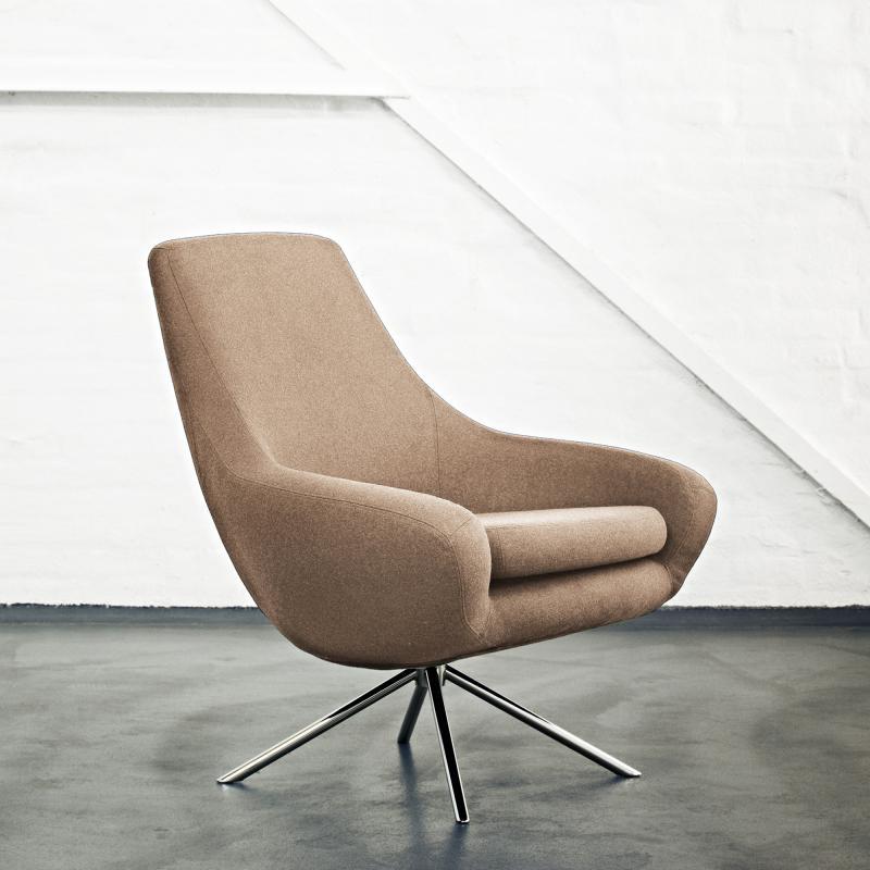 Awe Inspiring Noomi Swivel Chair Softline Noomi Lounge Sessel 2 327619 Pdpeps Interior Chair Design Pdpepsorg