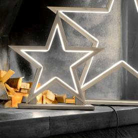 Sompex Lucywood LED Tischleuchte/Bodenleuchte