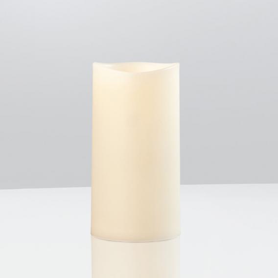 Sompex LED Außenkerze mittel mit Timer, fernbedienbar