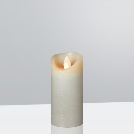 Sompex Shine LED Echtwachskerzen mit Timer, fernbedienbar, schmal