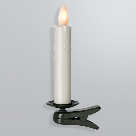 Sompex Shine LED Weihnachtsbaum-Klemmleuchten 5-er Set mit Timer und Fernbedienung