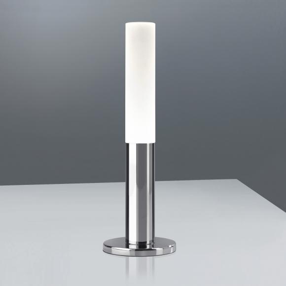 Sompex Fackel LED Tischleuchte mit Dimmer H: 18 cm, chrom/satiniert 88665, EEK: A+