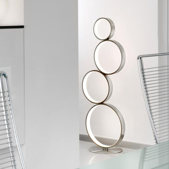 Sompex Loop LED Stehleuchte mit Dimmer