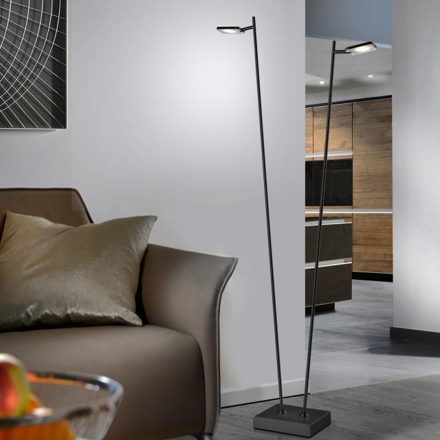 Sompex Quad LED Stehleuchte mit Dimmer, 2-flammig
