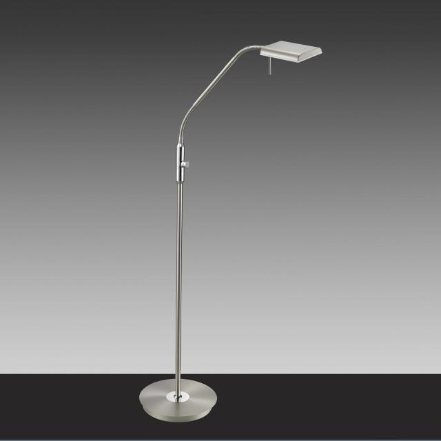 TRIO Bergamo LED Stehleuchte mit Dimmer