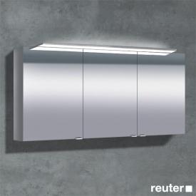 Sprinz Classical-Line Aufputz Spiegelschrank mit Paneel-Beleuchtung mit 3 Türen ohne Hintergrundbeleuchtung