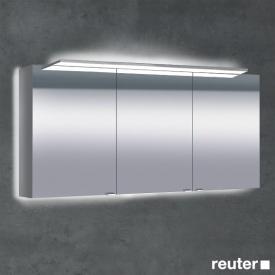 Sprinz Classical-Line Aufputz Spiegelschrank mit Paneel-Beleuchtung mit 3 Türen mit Hintergrundbeleuchtung
