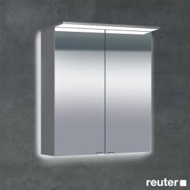 Sprinz Classical-Line Aufputz Spiegelschrank mit Paneel-Beleuchtung mit Hintergrundbeleuchtung