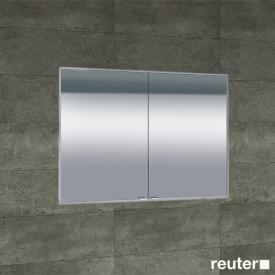 Sprinz Classical-Line Unterputz Spiegelschrank mit 2 Türen Rückwand verspiegelt, mit zusätzlichem Elektropaneel