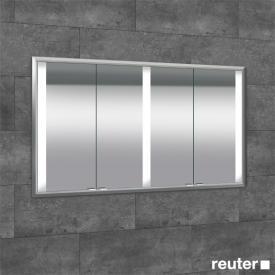 Sprinz Elegant-Line Unterputz Spiegelschrank mit LED-Beleuchtung, mit 4 Türen