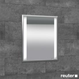 Sprinz Elegant-Line Unterputz Spiegelschrank mit LED-Beleuchtung, mit 1 Tür Anschlag links, ohne Hintergrundbeleuchtung