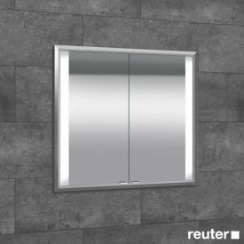 Sprinz Elegant-Line Unterputz Spiegelschrank mit LED-Beleuchtung, mit 2 Türen
