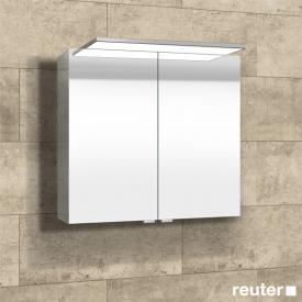 Sprinz Modern-Line Aufputz Spiegelschrank mit Paneel-Beleuchtung ohne Hintergrundbeleuchtung
