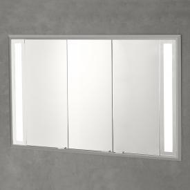 Sprinz Silver-Line Unterputz Spiegelschrank mit LED-Beleuchtung mit 3 Türen ohne Hintergrundbeleuchtung