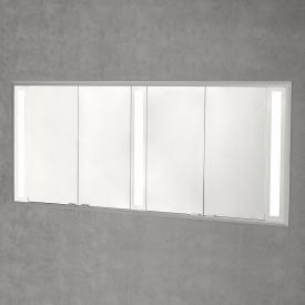 Sprinz Silver-Line Unterputz Spiegelschrank mit LED-Beleuchtung mit 4 Türen ohne Hintergrundbeleuchtung