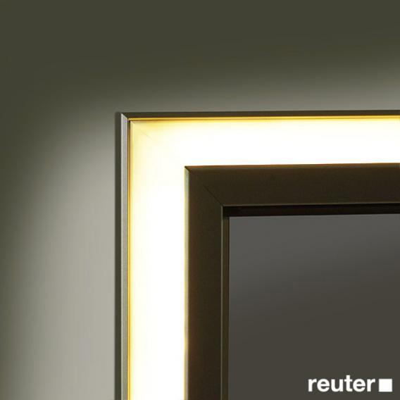 Sprinz classical line unterputz spiegelschrank umlaufend beleuchtet c031500amam29e ll1500 reuter for Unterputz spiegelschrank