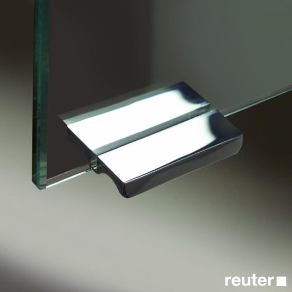 Sprinz Modern-Line Aufputz Spiegelschrank mit Paneel-Beleuchtung mit Hintergrundbeleuchtung