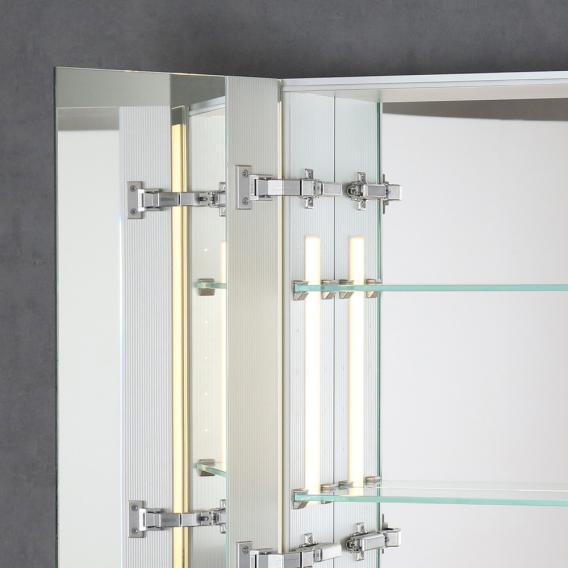 Sprinz silver line unterputz spiegelschrank modell nr 06 ohne hintergrundbeleuchtung for Unterputz spiegelschrank
